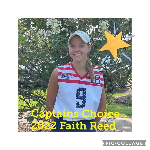 Faith Reed - Captain