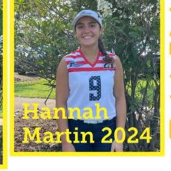Hannah Martin - Captain